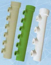 Гребенка из пластиковых труб