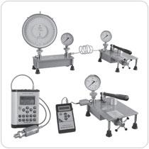 Приборы для поверки кислородных манометров и датчиков давления