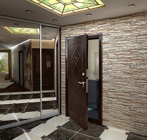 металлические двери в квартиру входная